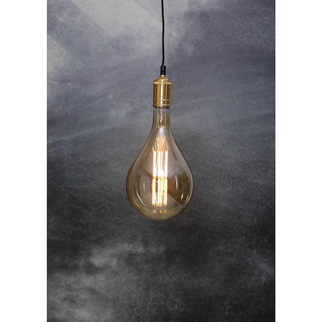 Home affaire LED-Filament »Industrial Vintage«, E27, dimmbar, Maße: 16,5x30 cm