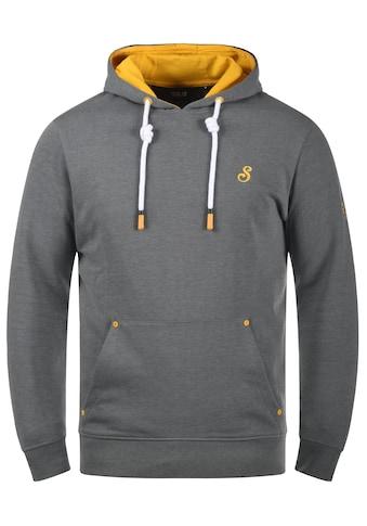 Solid Hoodie »Kenan«, Kapuzensweatshirt mit kontrastreichen farblichen Details kaufen