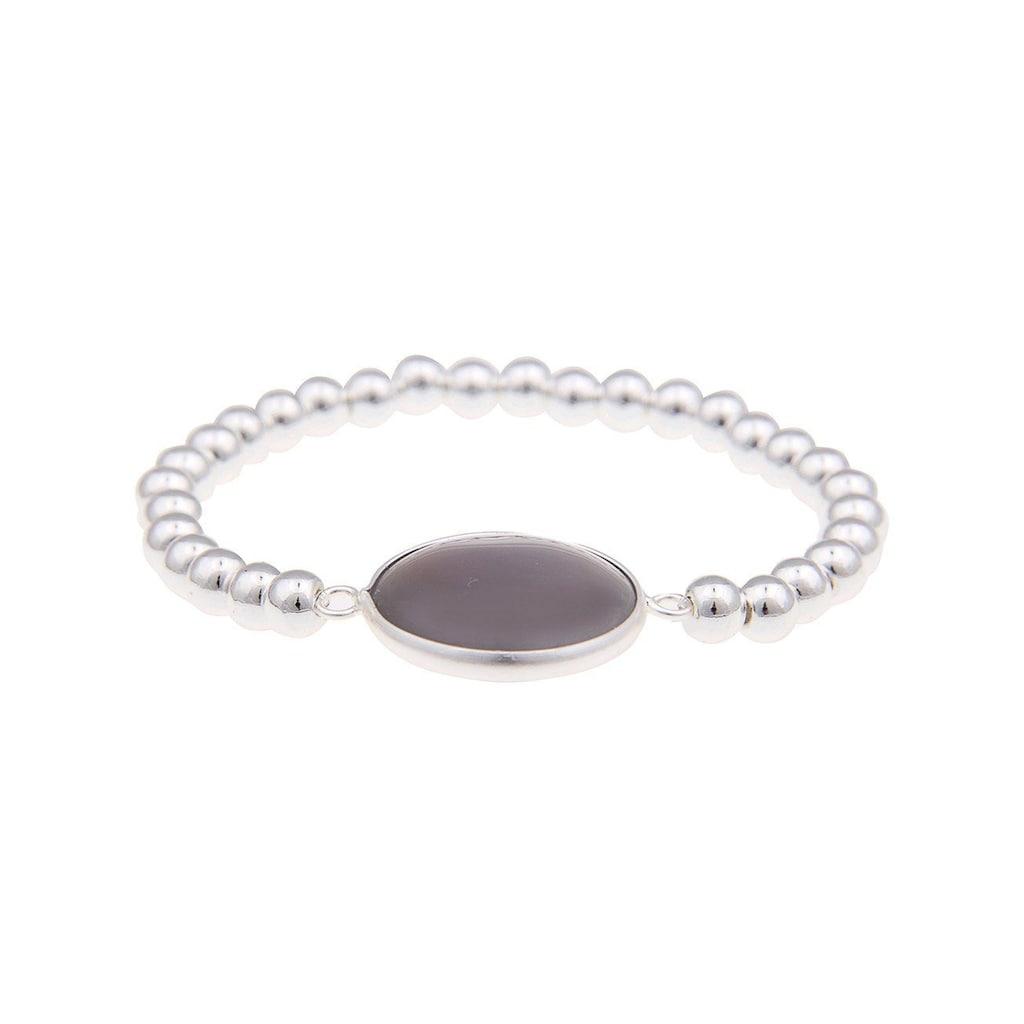 leslii Armband, mit modischer Steinscheibe
