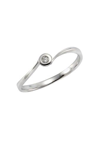 Orolino Ring »585/- Weißgold Brillant« kaufen