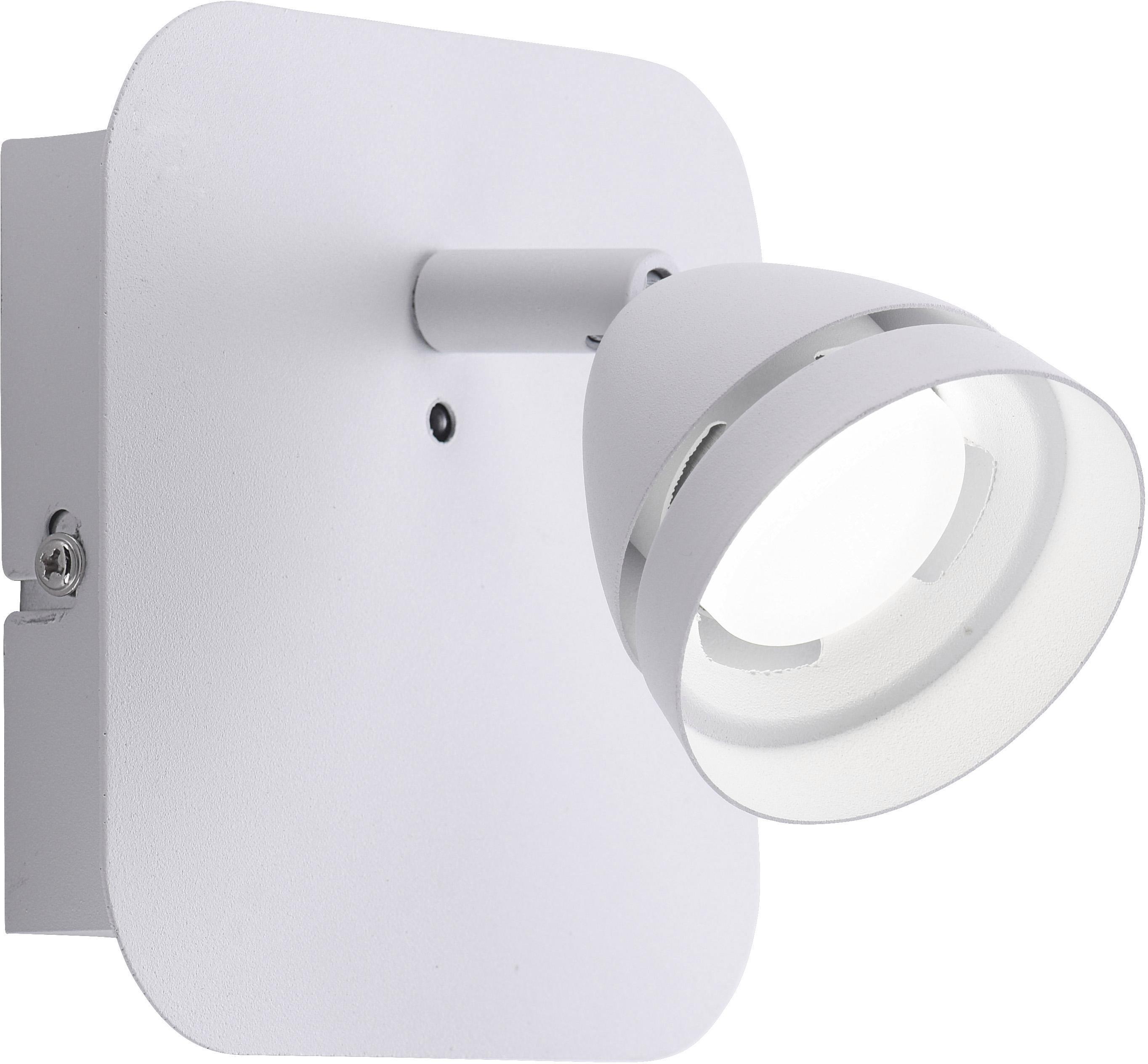 TRIO Leuchten LED Wandleuchte GEMINI, LED-Board, Warmweiß-Neutralweiß, Mit WiZ-Technologie für eine moderne Smart Home Lösung