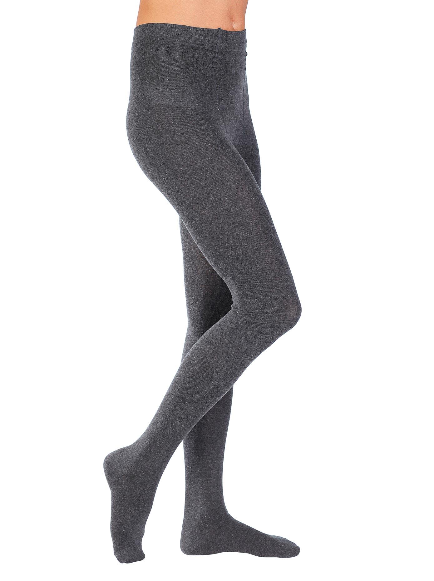 Hudson Strickstrumpfhose grau Damen Strickstrumpfhosen Strumpfhosen Damenwäsche