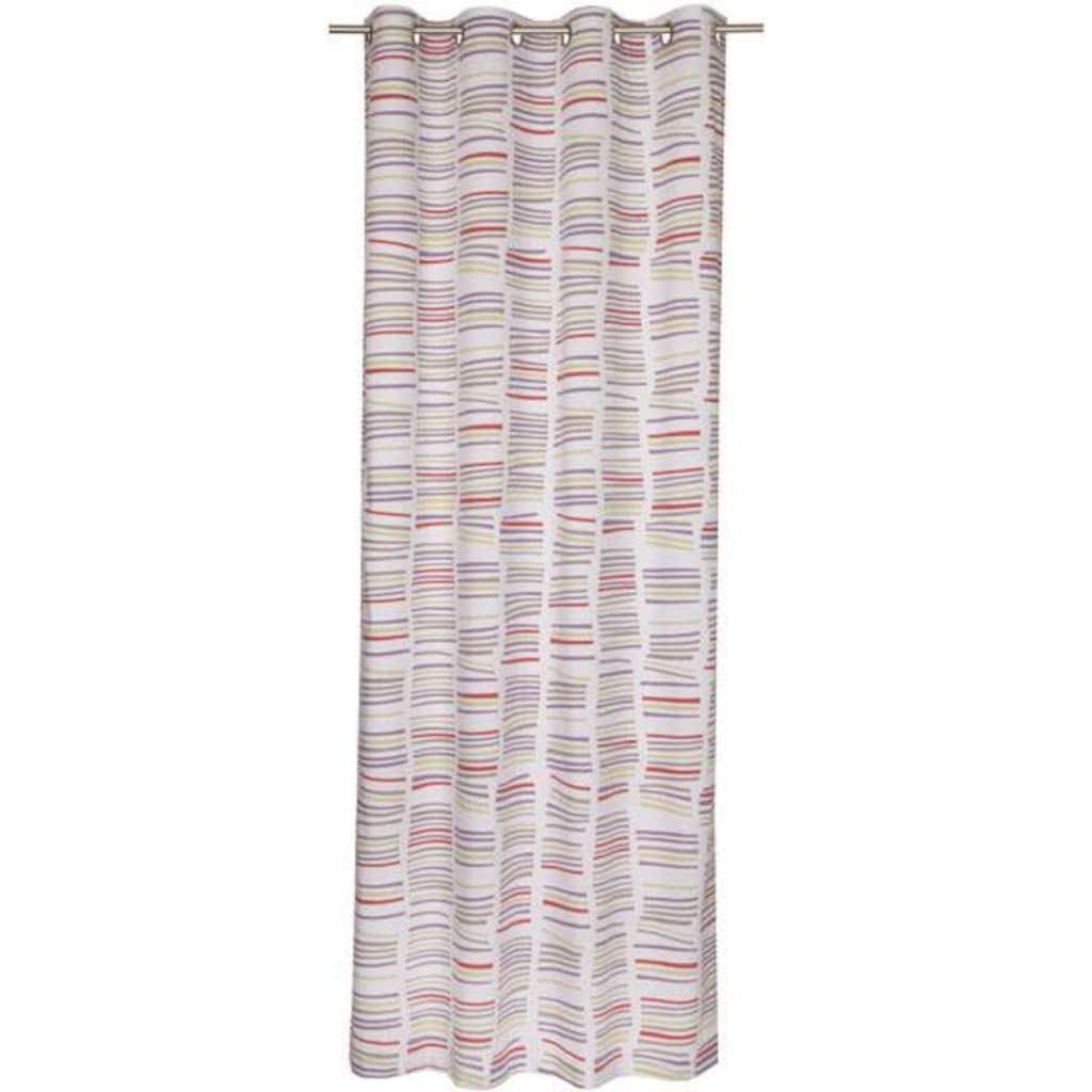 SCHÖNER WOHNEN-Kollektion Vorhang nach Maß »Beam«, Ösenvorhang mit Querstreifen