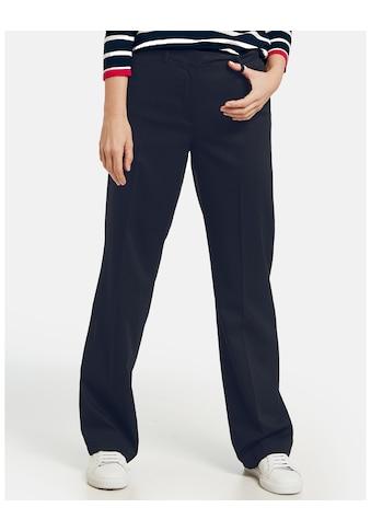 GERRY WEBER Hose Tuch/Kombi lang »Gerade geschnittene Hose« kaufen
