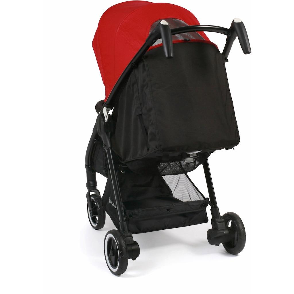 CHIC4BABY Sport-Kinderwagen »Robbie, rot«, mit schwenk- und feststellbaren Vorderrädern; Kinderwagen, Buggy, Sportwagen, Kinder-Buggy, Kinderbuggy