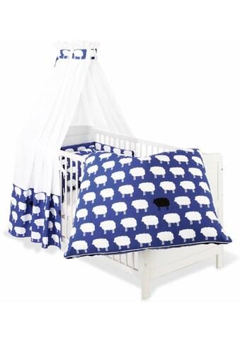 Himmelbettgarnitur »Happy Sheep, blau«, Pinolino®, passend für Kinderbetten kaufen