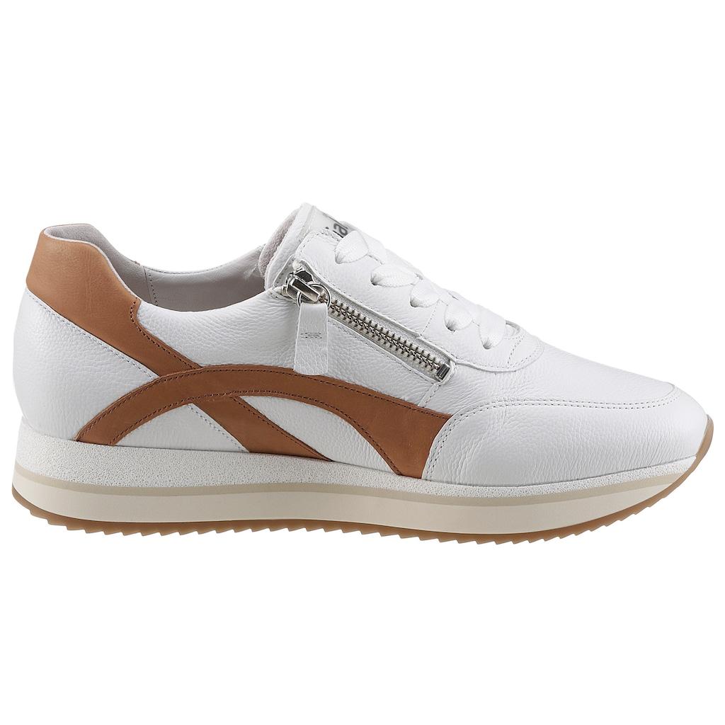 Gabor Keilsneaker, mit Kontrastbesätzen