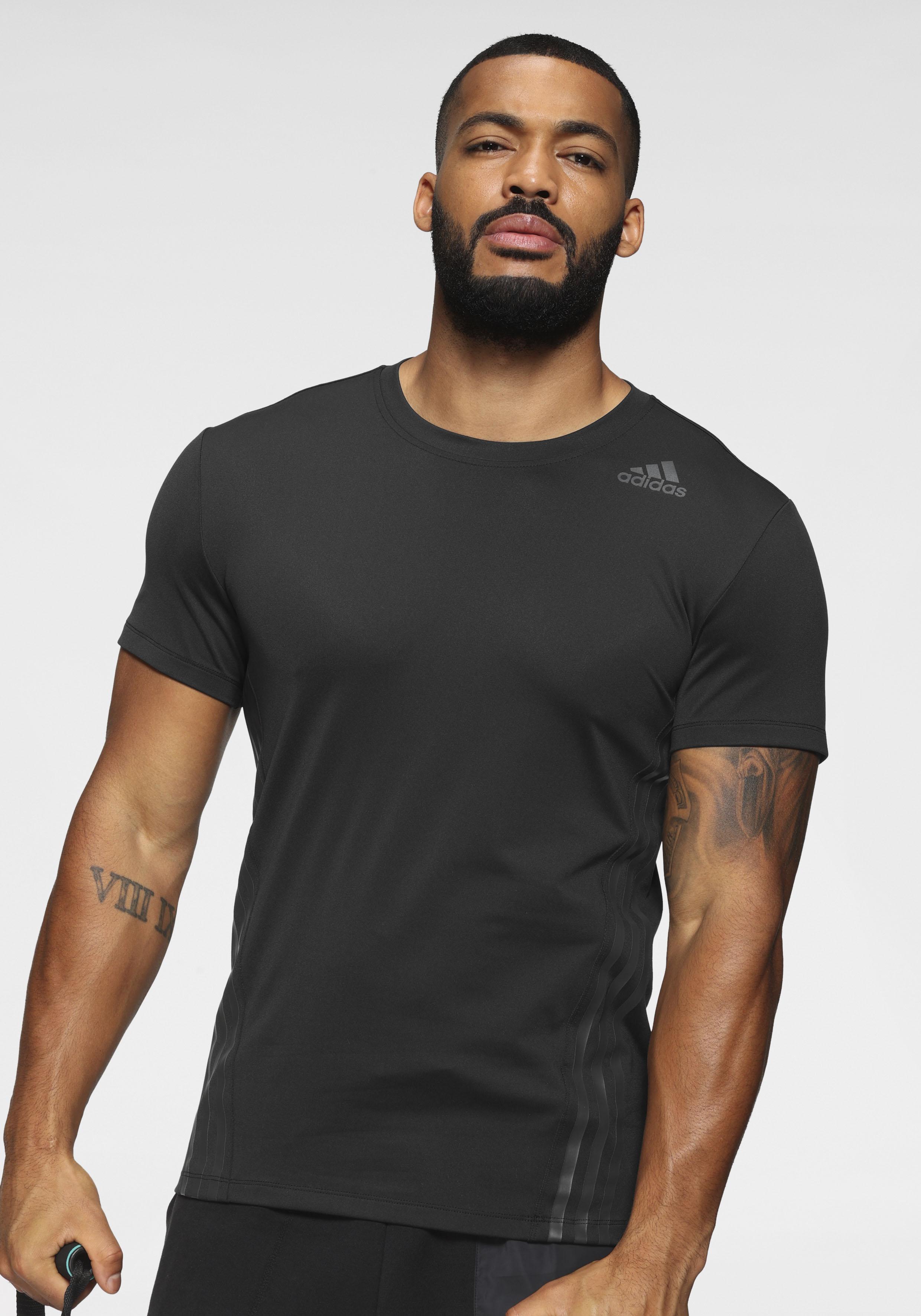 adidas performance -  T-Shirt AERO 3 STRIPES CW TEE