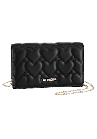 LOVE MOSCHINO Clutch, in gesteppter Herzoptik kaufen