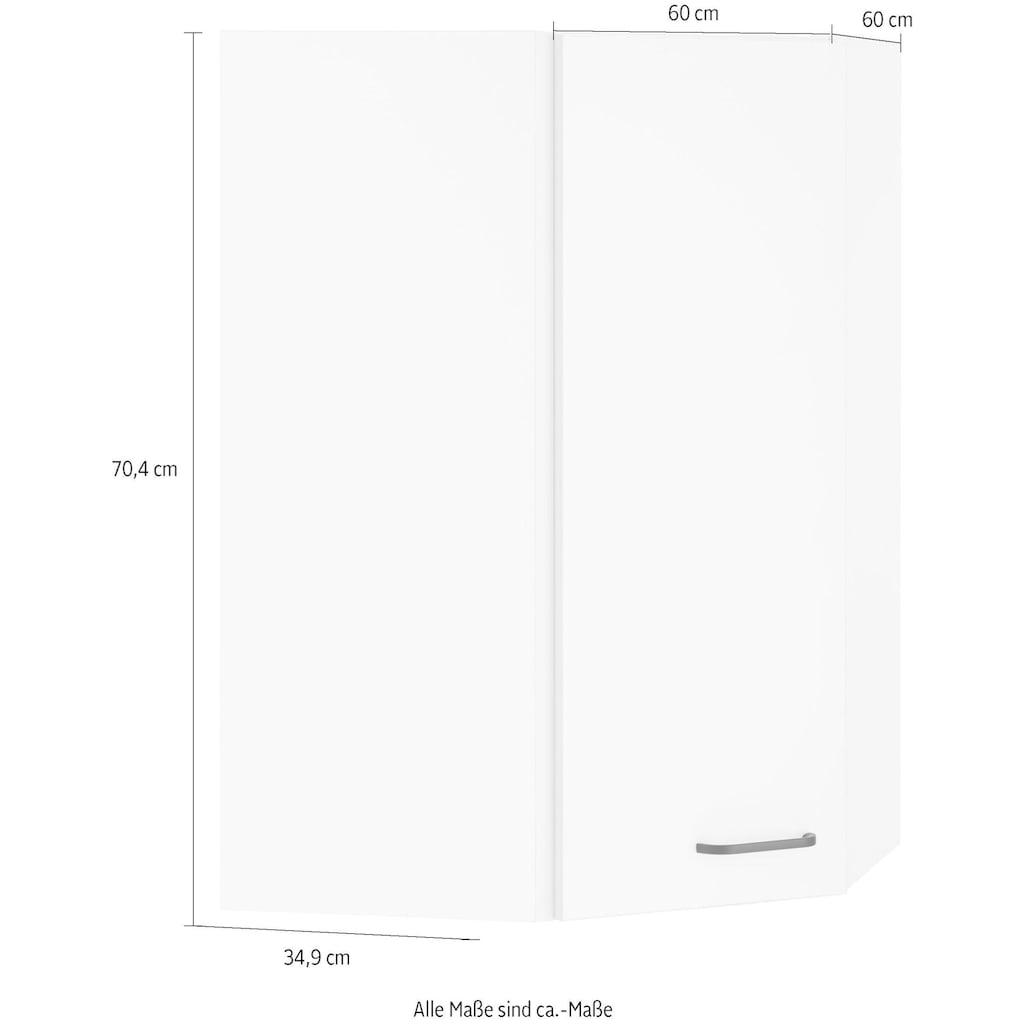 OPTIFIT Eckhängeschrank »Elga«, mit Soft-Close-Funktion und Metallgriff, Breite 60x60 cm