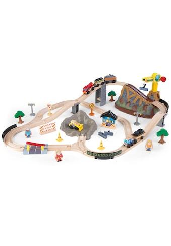 """KidKraft® Spielzeug - Eisenbahn """"Eisenbahnset Baustelle mit Aufbewahrungsbox"""" kaufen"""