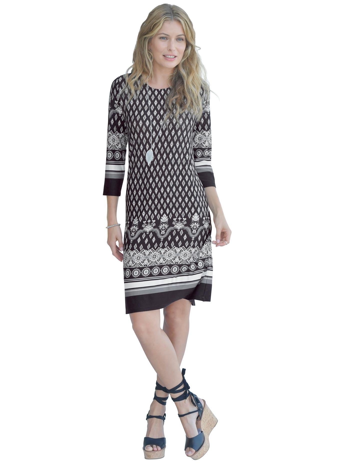 Classic Inspirationen Jerseykleid mit fließendem Fall