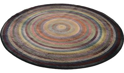 THEKO Teppich »Gabiro 001«, rund, 10 mm Höhe, Wohnzimmer kaufen