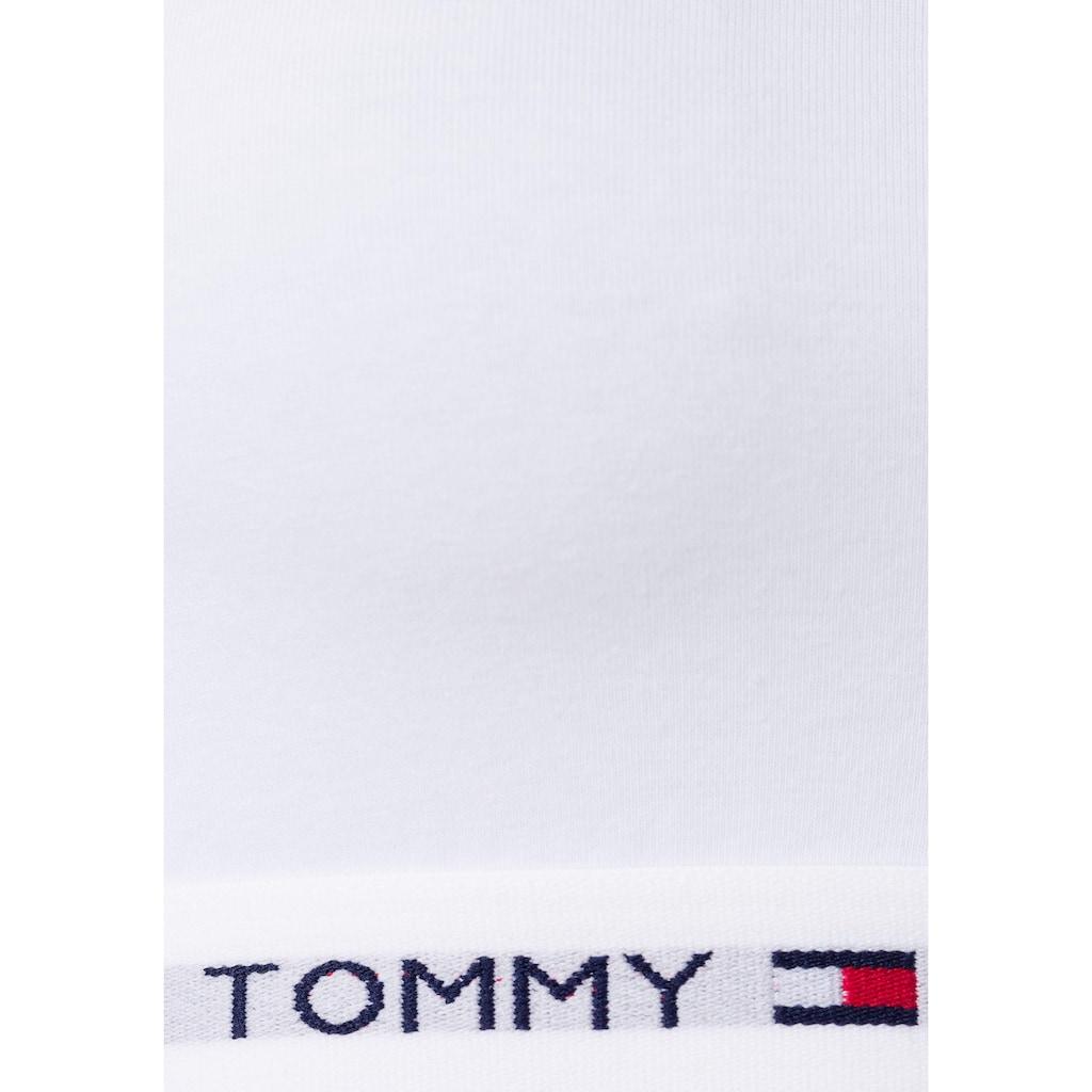 Tommy Hilfiger Bustier »Iconic«, mit Logobündchen