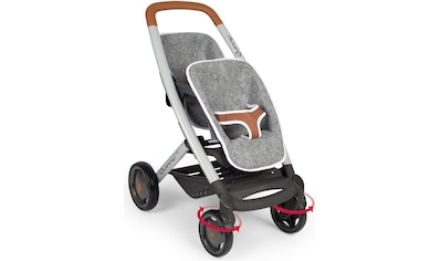 Smoby Puppen-Zwillingsbuggy »Quinny, grau«, Made in Europe kaufen