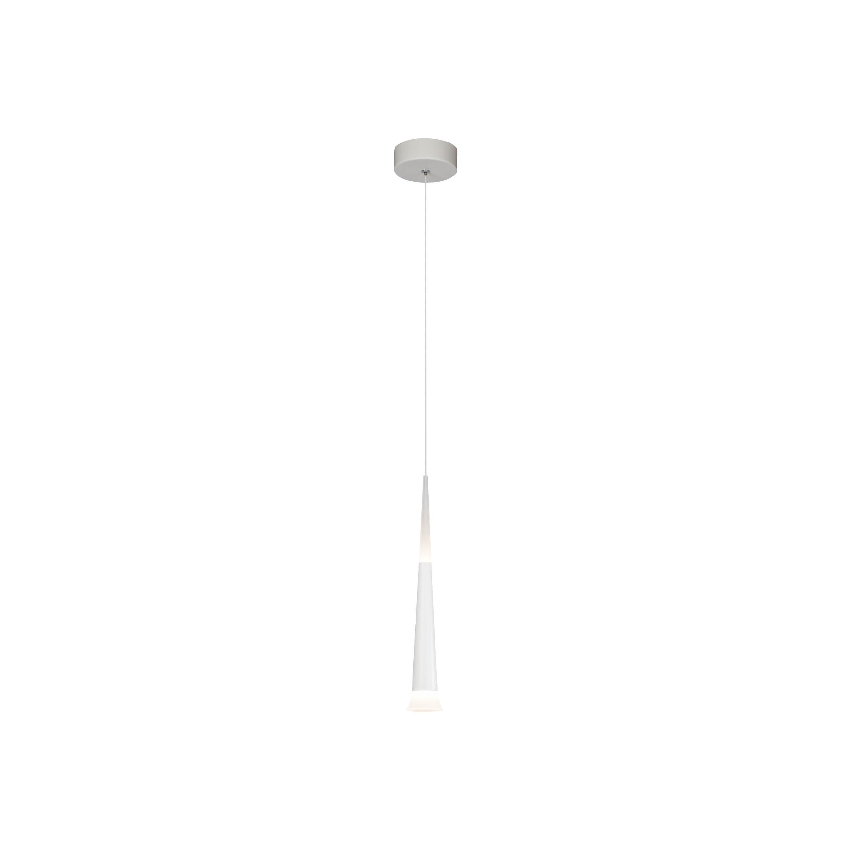 AEG Ely LED Pendelleuchte 1flg weiß
