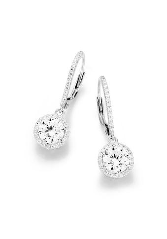 Smart Jewel Paar Ohrhaken »elegant mit Brisur« kaufen