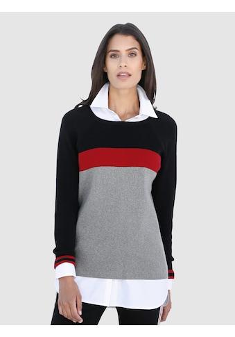 Laura Kent Pullover in Streifen - Optik kaufen