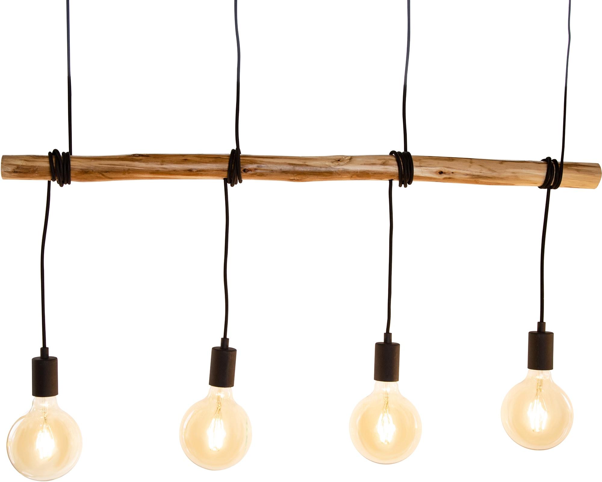 Nino Leuchten Pendelleuchte Teris, E27, 1 St., Hängeleuchte, Hängelampe