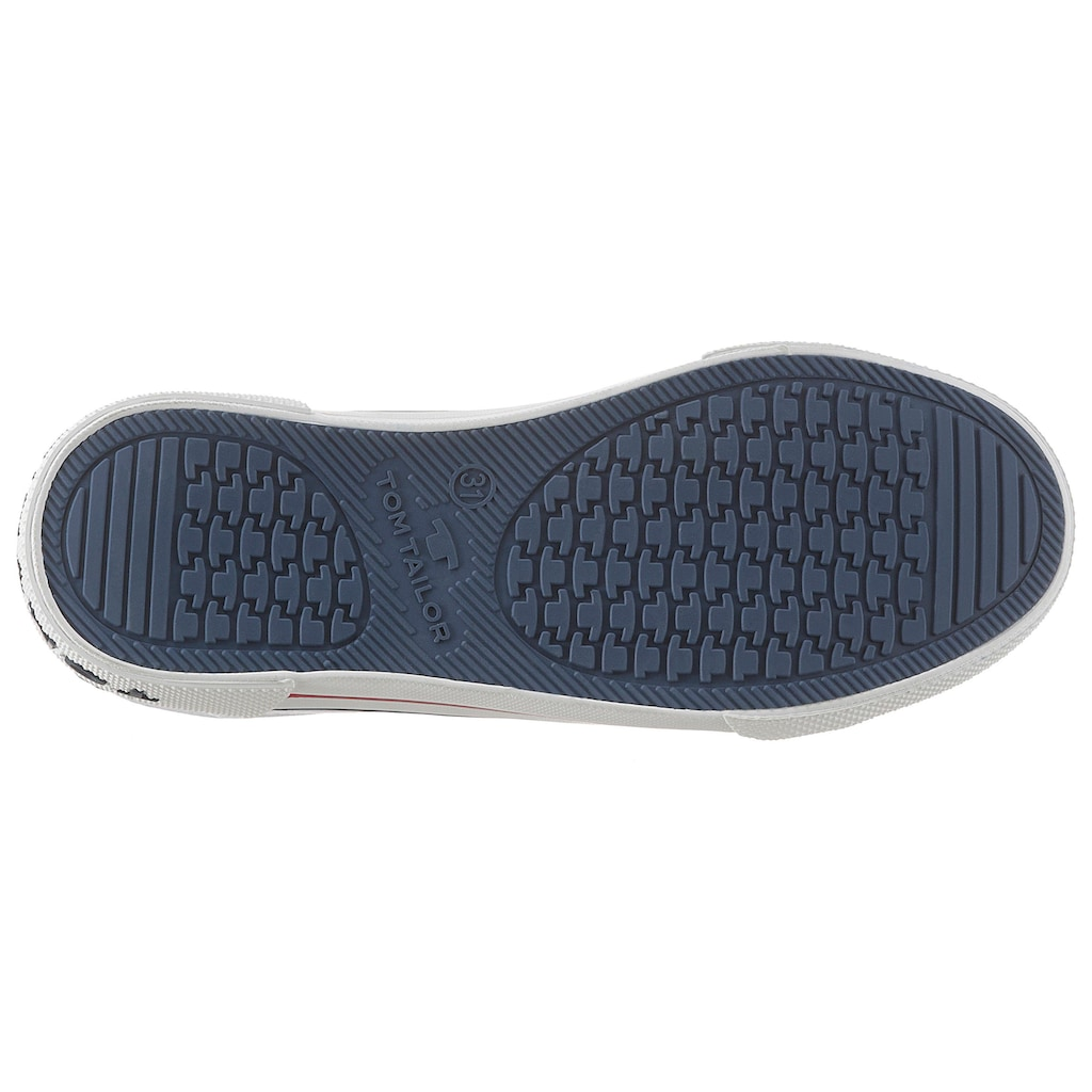 TOM TAILOR Sneaker, mit Markenschriftzug