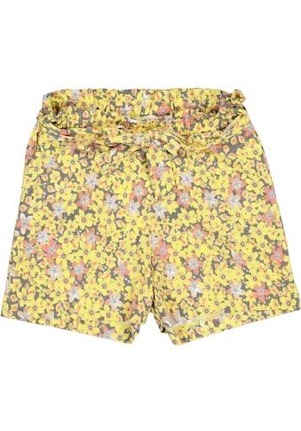 Garcia Shorts, (Packung, 2 tlg., mit Bindeband), mit sommerlichem Blumenmotiv kaufen