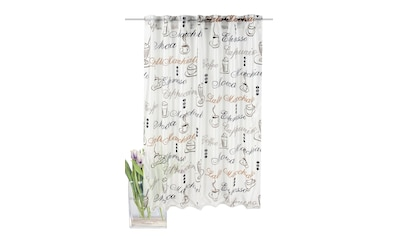 Vorhang, »Cloe«, HOME WOHNIDEEN, verdeckte Schlaufen 1 Stück kaufen