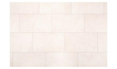 ANDIAMO Packung: Vinylboden »PVC Auslegeware«, verschiedene Breiten Meterware, Fliesen - Optik weiß kaufen