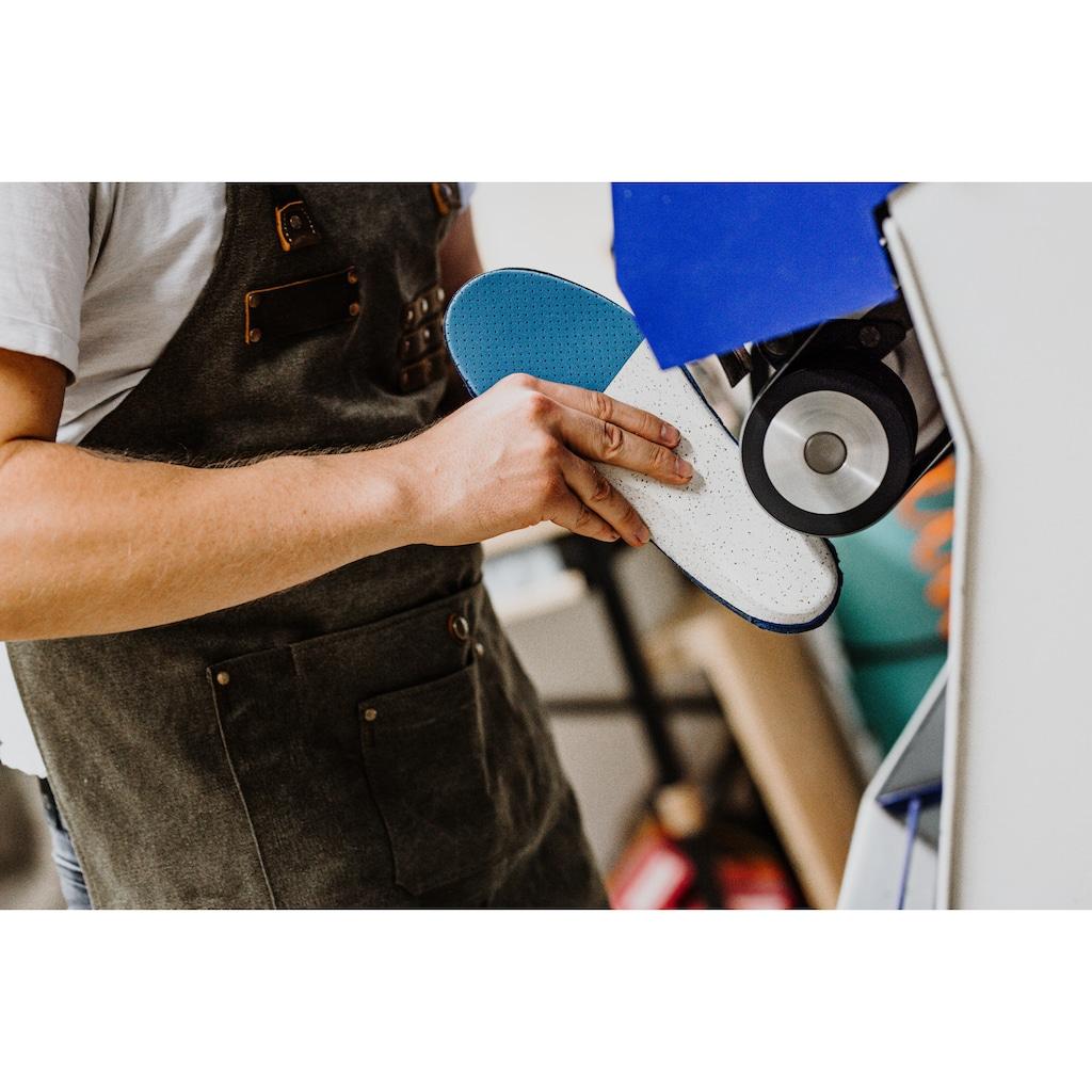 craftsoles orthopädische Schuheinlagen »Alltagsschuhe - Microleder«, Maßanfertigung