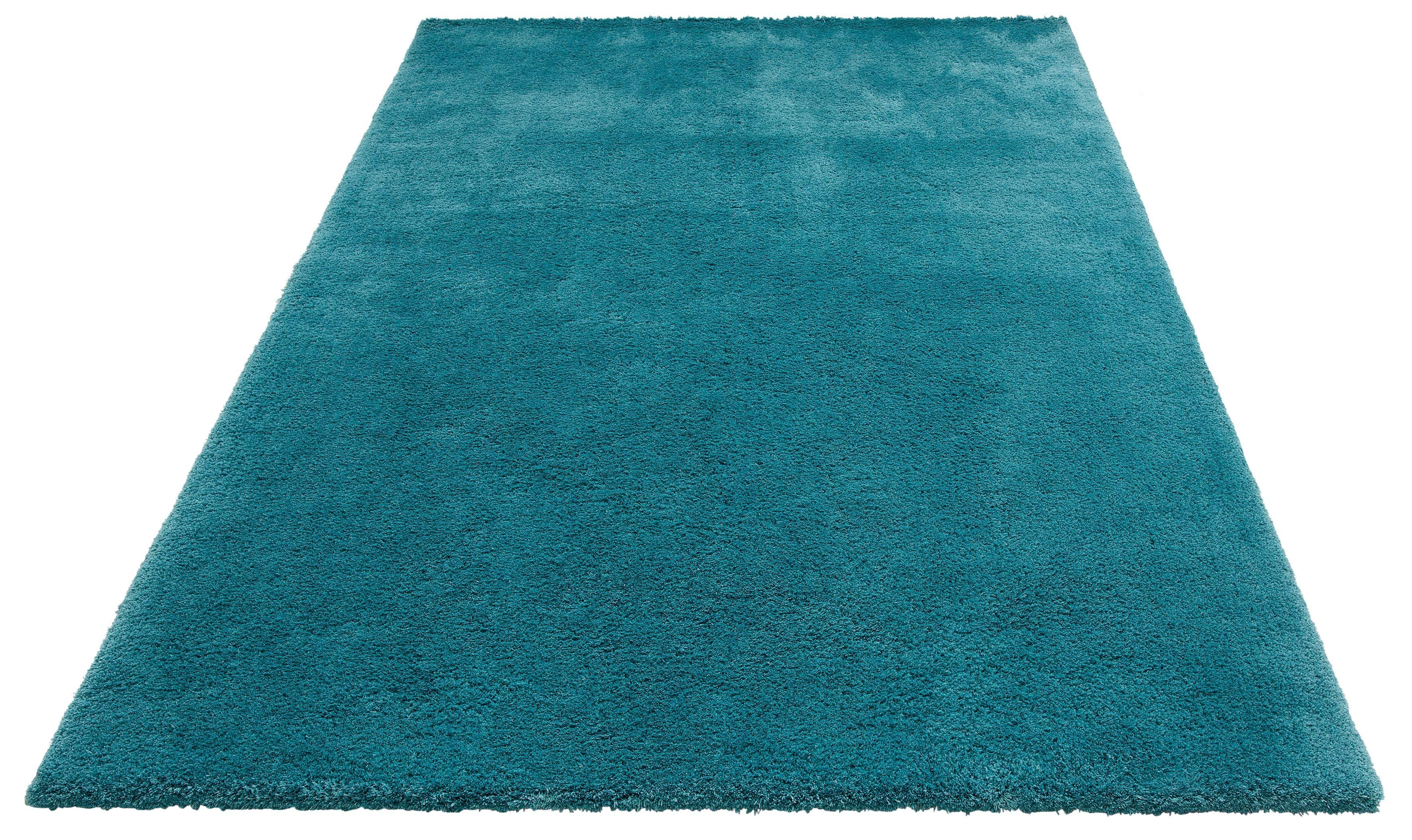 Hochflor-Teppich Magong my home rechteckig Höhe 25 mm handgetuftet