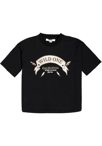 Garcia T-Shirt, kurze Optik kaufen