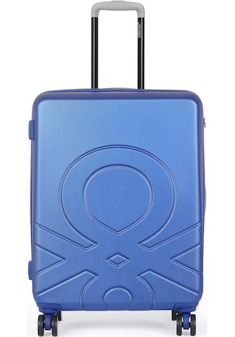 "United Colors of Benetton Hartschalen - Trolley ""Ultra Logo, 55 cm, Royal Blue"", 4 Rollen kaufen"