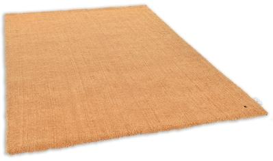 TOM TAILOR Hochflor-Teppich »Shaggy Teppich Cozy«, rechteckig, 25 mm Höhe, Uni Farben,... kaufen