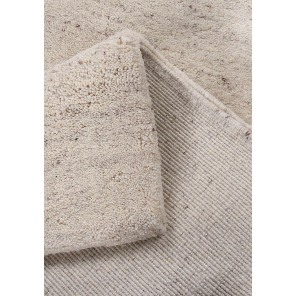 THEKO Wollteppich »Maloronga Uni«, rechteckig, 24 mm Höhe, echter Berber, reine Wolle, Wohnzimmer
