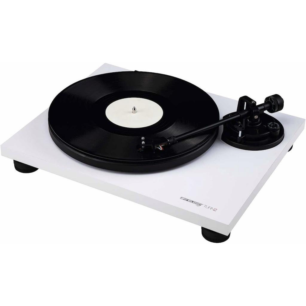 Reloop® Plattenspieler »Turn 2 white«