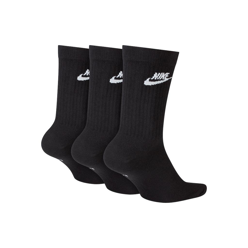 Nike Tennissocken, (3 Paar), mit strukturiertem Mittelfußbereich