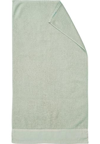 Marc O'Polo Home Duschtuch »Linan«, (1 St.), mit Bordüre aus Baumwoll-Leinengewebe kaufen