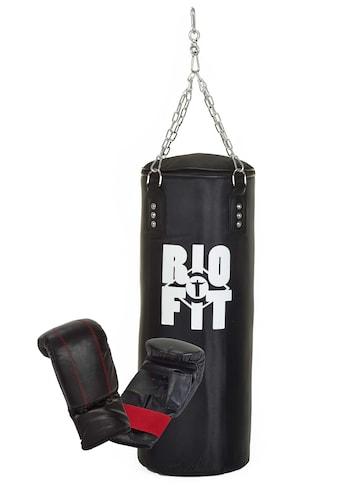 RioFit Boxsack (Set, mit Boxhandschuhen) kaufen