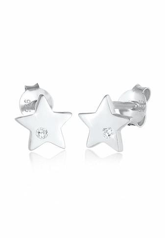 Elli Paar Ohrstecker »Kinder Sterne Zirkonia Astro 925 Silber« kaufen