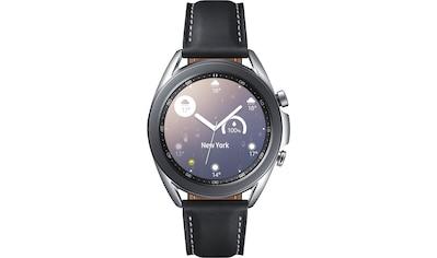 Samsung Smartwatch »Galaxy Watch 3, Edelstahl, 41 mm, Bluetooth (SM-R850)«, ( Android... kaufen