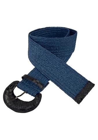 Vanzetti Taillengürtel, Gemusterte bezogene Schließe kaufen