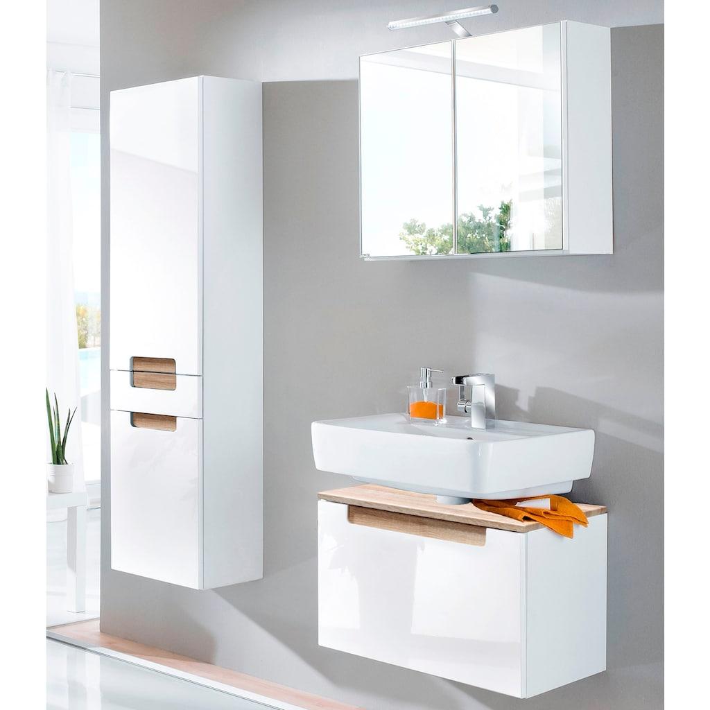HELD MÖBEL Waschbeckenunterschrank »Siena«, Badmöbel, Breite 60 cm