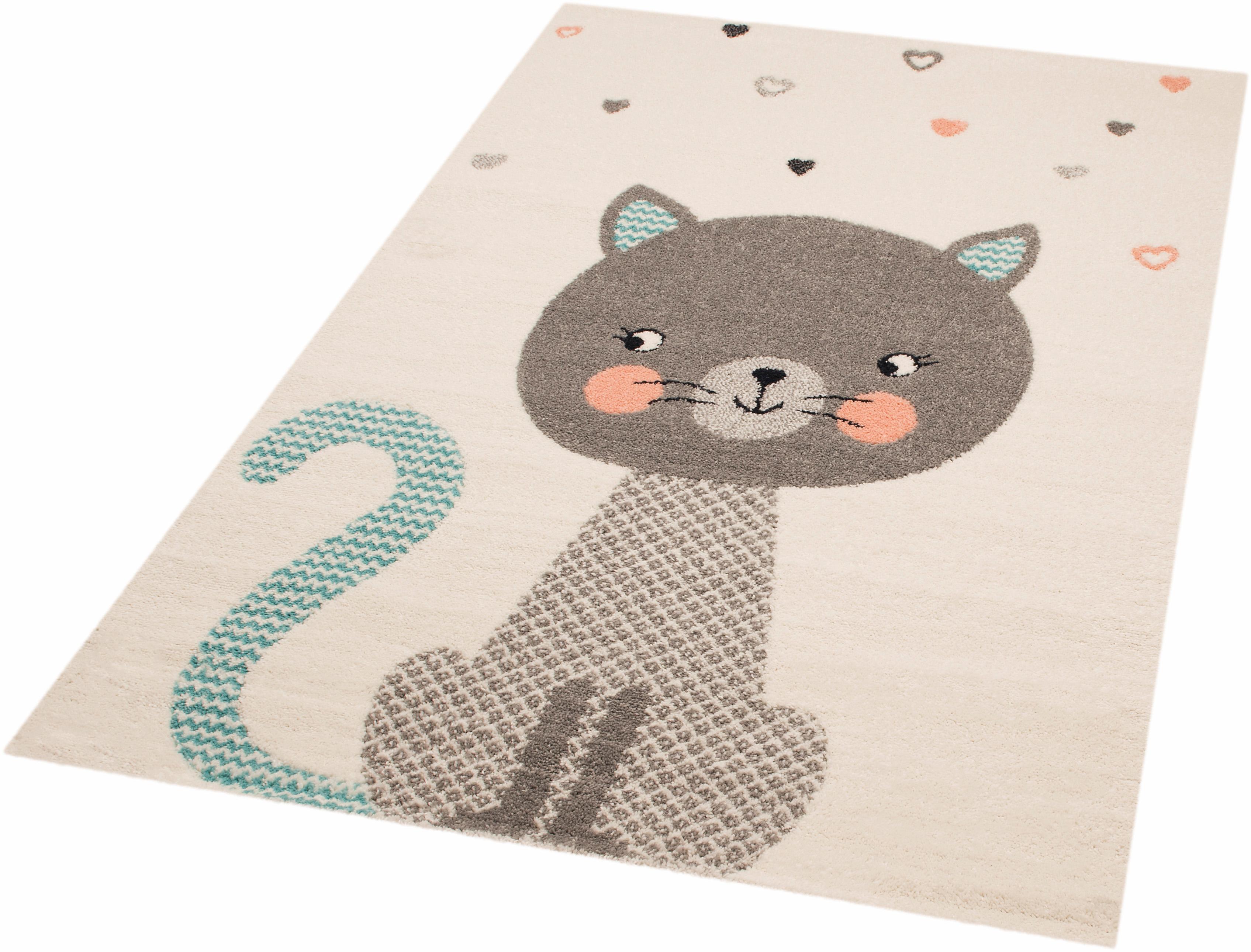 Kinderteppich Cat Alex Zala Living rechteckig Höhe 8 mm handgewebt