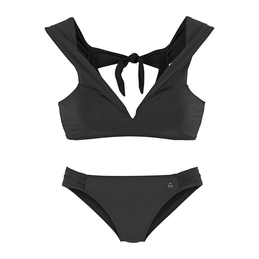 LASCANA Bustier-Bikini, in Off-Shoulder-Form
