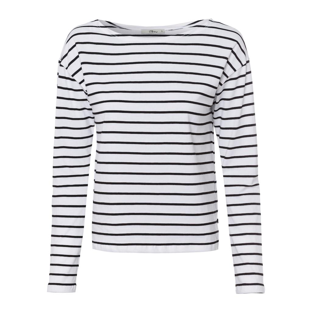LTB Sweater »MOPARA«, mit Streifen