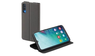 Hama Smartphone Booklet Handytasche Handyhülle Samsung A50/A30s »Schutz Single2.0 Anthrazit« kaufen
