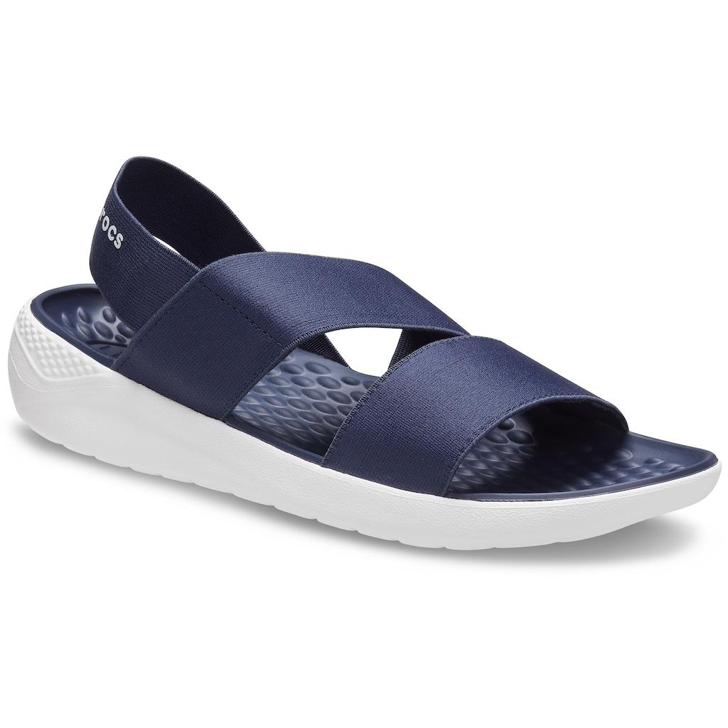 Crocs Sandale »LiteRide Stretch Sandal«, mit Stretcheinsatz