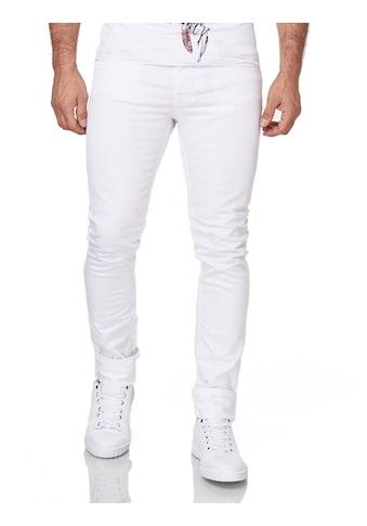 KINGZ Slim-fit-Jeans, mit perfektem Sitz kaufen