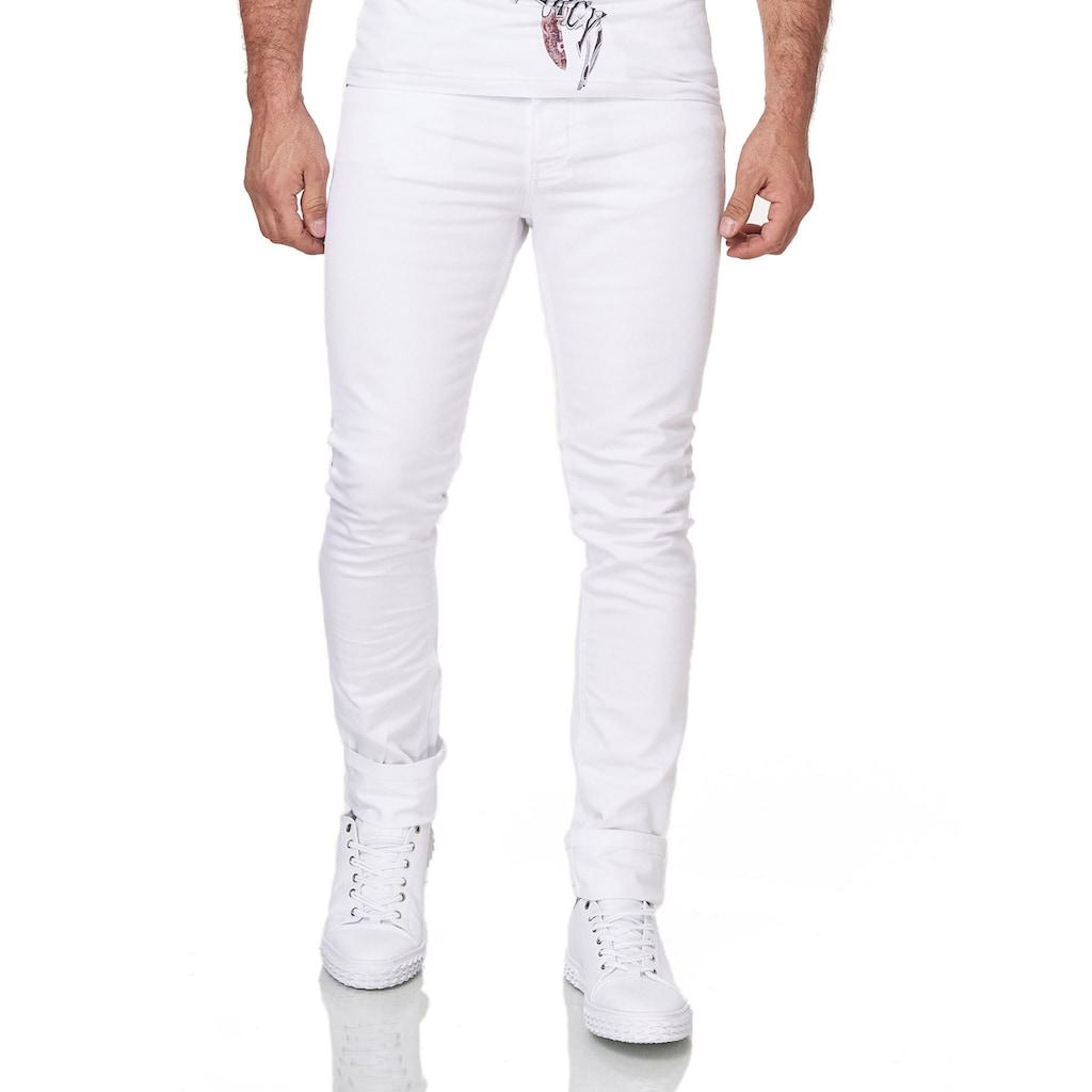 KINGZ Slim-fit-Jeans, mit perfektem Sitz