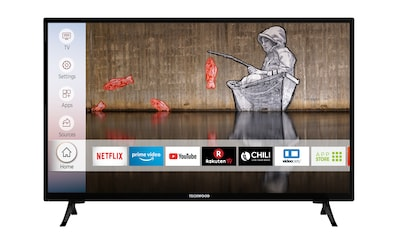 Techwood H32T52E LED - Fernseher (80 cm / (32 Zoll), HD ready, Smart - TV kaufen