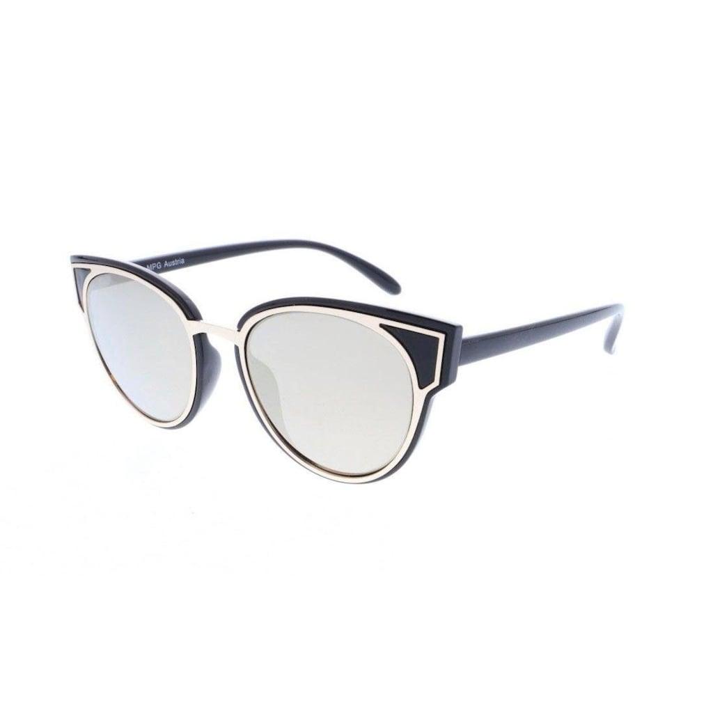 J.Jayz Sonnenbrille, mit goldener Metalleinfassung